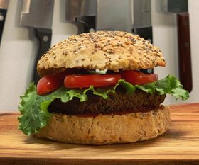 Vegan Burger with MinceGreens