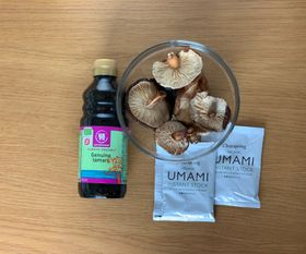 The umami sources